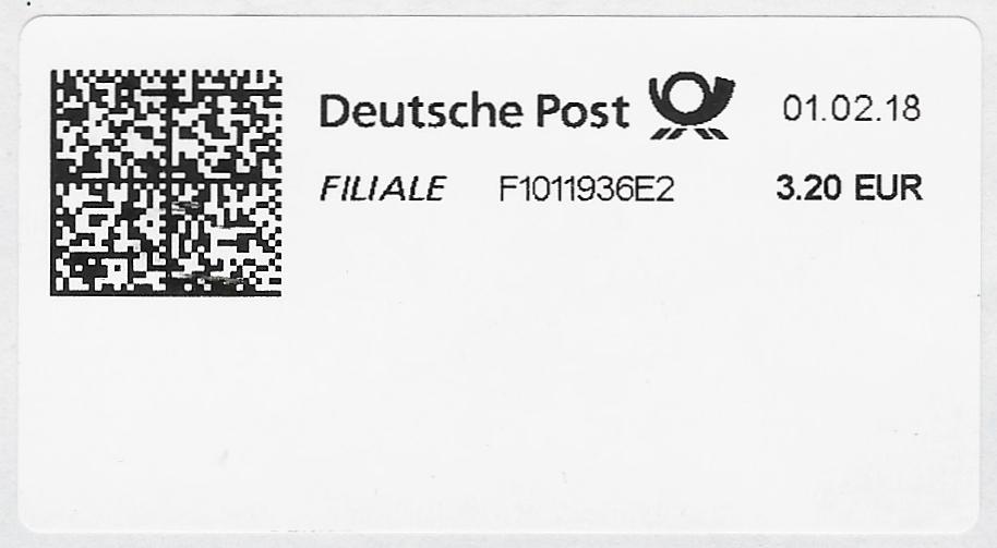 德国FILIALE网络邮资欣赏(二)